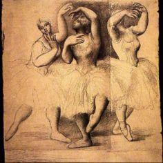 Pablo Picasso. Trois danseuses 1919