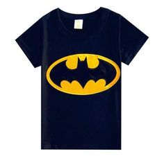 Batman Gold logo T-shirt. Sizes 18-24months, 2-3yrs, 3-4yrs, 4-5yrs, 5-6yrs. NOW JUST $8.50 Gold Logo, Superhero Logos, Batman, T Shirt, Halloween, Black, Supreme T Shirt, Tee Shirt, Black People