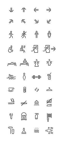 Voskresenskoe wayfinding and identity by Tomat design branding Design Ui Ux, Icon Design, Signage Design, Typography Design, Graphic Design, Flat Design, Navigation Design, Dashboard Design, Design Thinking