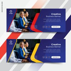 Web Design, Web Banner Design, Business Cards Layout, Business Card Design, Social Media Banner, Social Media Design, Creative Banners, Web Banners, Magazine Design