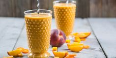 Turn your usual morning smoothie into a tropical getaway with this tropical smoothie that's great for all ages.