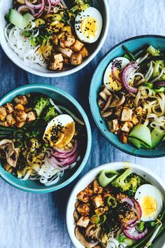 Nourishing Noodle Bowls - Laksa Lux