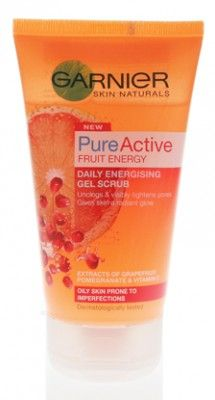 Garnier Pure Active Fruit Energy Daily Energising Gel Scrub 150ml