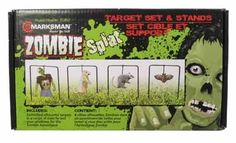 Zombie Style Swinging Targets 4 Sizes   Zombified silhouette targets in a range of sizes to test your readiness for the zombie apocalypse.