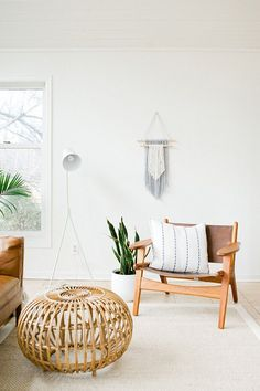 White and neutral room decor