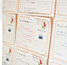 madlibs RSVP response cards - love this!