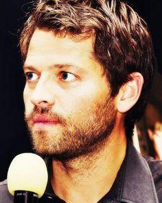 Misha & his scruffy beard #MishaCollins