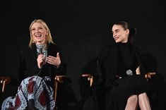 Cate Blanchett and Rooney Mara Photos - American Cinematheque Screening and Q&A for 'Carol' - Zimbio