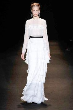 Alberta Ferretti, Milan Fashion Week, Fall 2013    source: Style.com