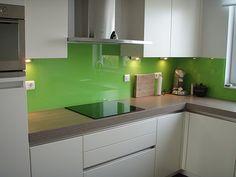 Gelakt Glas Voor De Keuken