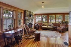 Interior of luxury home in Alton, New Hampshire