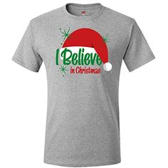 Inktastic Believe In Christmas T-Shirt Small Athletic Heather inktastic http://www.amazon.com/dp/B00O1JTBI8/ref=cm_sw_r_pi_dp_ih2Pub1B92JH1