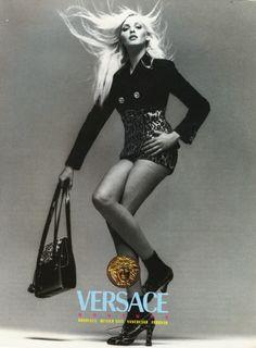 AD Gianni Versace by Richard Avedon - FW. 1994