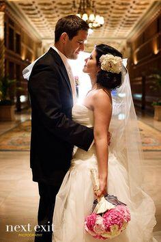 Millenium Biltmore Hotel Sterling Engagements Rainy Day Wedding