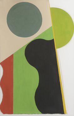 Etienne BEÖTHY (1897 - 1961). Métamorphe, 1939, Gouache sur papier découpé, 56 x 37 cm.