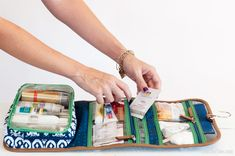 Packing a Toiletry Bag for Vacation