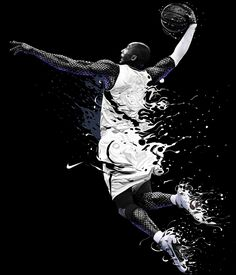 Kobe Bryant por Cristiano Siqueira.