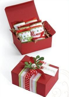 Christmas Gift Box: easy Christmas crafts