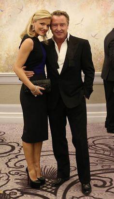 Michael Flatley & his wife, Niamh.
