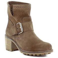 Calzado de color cuero para Joven Chica tipo Botines con las siguientes características: Tacón medio, estilo casual y Sin cierre. - Color : cuero - Zapatos Mujer 52,95 €