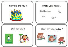 Découverte de l'anglais avec la méthode Ghostie du CRDP questions English Resources, English Lessons, English Fun, Learn English, Learning English For Kids, What Is Your Name, Second Language, English Vocabulary