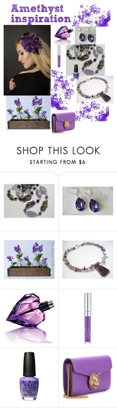 """""""Amethyst inspiration"""" by varivodamar ❤ liked on Polyvore featuring Rustico, Diesel and modern"""