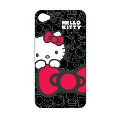 Hello Kitty Polycarbonate Wrap for iPhone 4 D970-KT4488B4
