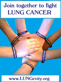Join together to fight lung cancer www.lungevity.org