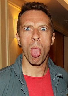 coldplay haha love him ! Chris Martin