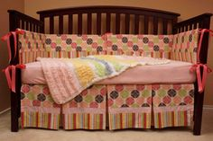 Baby Girl Bedding  Girly Girl by ArielJewell on Etsy, $200.00