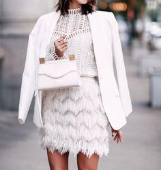 Pinterest @esib123  #style #inspo  all white outfit