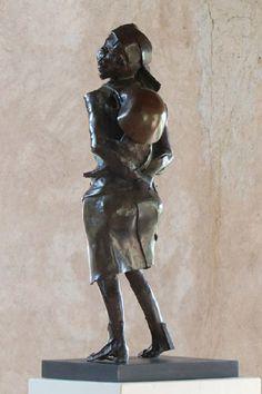 Lango mama by Isaac Okwir Centre, National Parks, Bronze, Sculpture, Statue, Gallery, Art, Art Background, Roof Rack