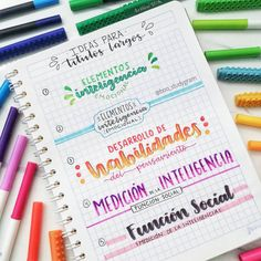 Bullet Journal Weekly Headers For You To Copy! Bullet Journal School, Bullet Journal Titles, Bullet Journal Banner, Journal Fonts, Bullet Journal Aesthetic, Bellet Journal, School Notebooks, Lettering Tutorial, School Notes