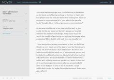 Novlr | Online novel writing software - free trial