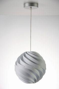 design polypropylene pendant lamp TWISTER Luján + Sicilia