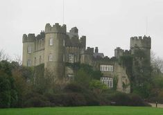 Five different ghosts roam the grounds of Malahide Castle in County Dublin