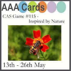 CAS Game #115 - Inspired by Nature