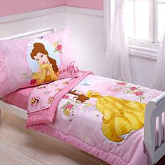 Princess Belle bedding