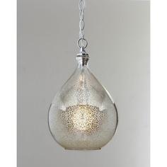 $125 Mercury-Glass Pendant Light - Neiman Marcus - Polyvore