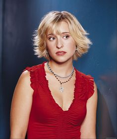 Allison Mack aka Chloe from Smallville, pinned from http://www.thecelebrityblog.com/2005/07/allison-mack-picture/#