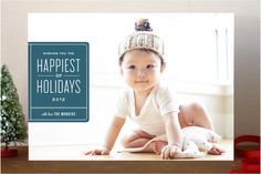 Ex Libris Holiday Photo Cards by Jennifer Wick at minted.com