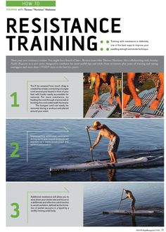 "Here's the the first of a Series of ""Training Tips with Thomas Maximus"" in the most recent edition of Standup Paddle Magazine (www.standuppaddlemagazine.com) currently at Book Stores, News stands and Paddle Shops. Thomas uses SeaDek SUP traction pads on his boards. SeaDek is made in the USA and provides the best non-skid characteristics in the industry. SeaDek's entire line is available for purchase online: http://www.seadek.com/c-96-stand-up-paddleboard-pads.aspx"