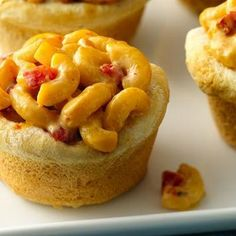 Spicy Mac 'n Cheese Biscuit Pies