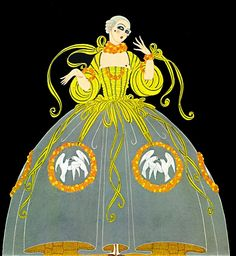 Erté Illustration.