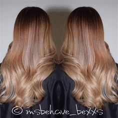 HOW-TO: Sandy-Blonde Balayage #behindthechair #balayage #hairpainting