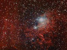 Caldwell 31 / IC405 - Flaming Star Nebula | Flickr: Intercambio de fotos