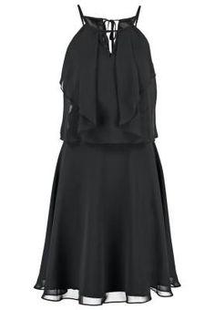 Swing Vestido De Coctel Schwarz vestidos y faldas Vestido Swing Schwarz coctel Noe.Moda