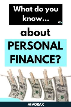 Personal finance is a term that covers managing your money as well as saving and investing. It includes budgeting, banking, insurance, mortgages, investments, retirement planning, and tax and estate planning. Do you want to know more? We give you everything you need to know to get started! With these 7 hacks you will be able to increase your net worth and start saving right now! | #personalfinancestips #moneymanagement #moneytips Finance Blog, Finance Tips, What Is Personal Finance, Managing Your Money, Retirement Planning, Net Worth, Money Management, Money Tips, Need To Know