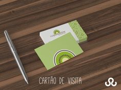 Desenvolvimento de cartão de visita da nutricionista Paula Daher #PaulaDaher…