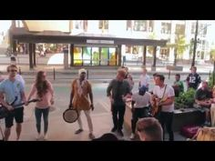 Street Musicians Perform with Homeless Man (Stuart Edge) - YouTube